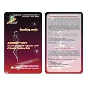 Карточка для сигарет с биофотонами Хуашен